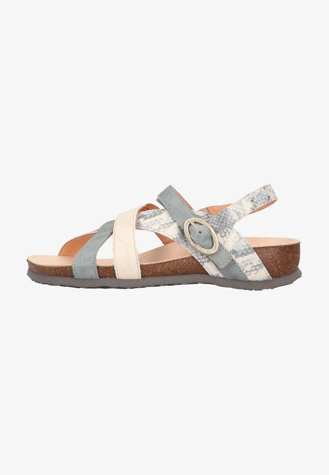 Sandalen - jeans/kombi