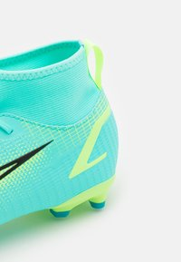 Nike Performance - MERCURIAL 8 ACADEMY MG UNISEX - Moulded stud football boots - dynamic turquoise/lime glow - 5