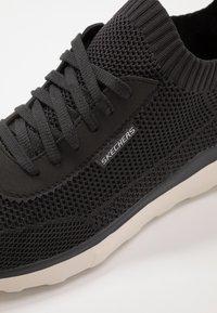 Skechers - BULGER - Sneaker low - charcoal - 5