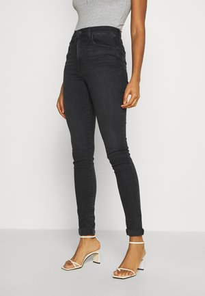 MILE HIGH SUPER SKINNY - Jeansy Skinny Fit - black haze