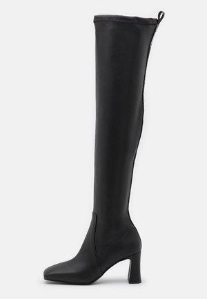 MARQUESSE KNEE BOOT - Overknees - black