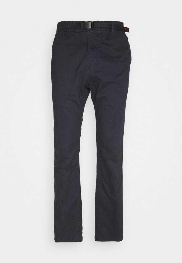 NN-PANTS SLIM - Chinos - double navy