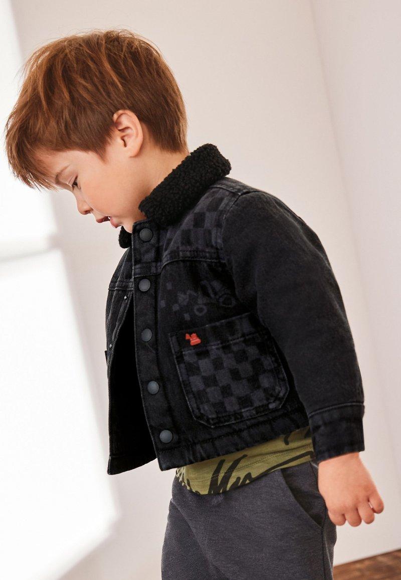 Next - Denim jacket - grey denim
