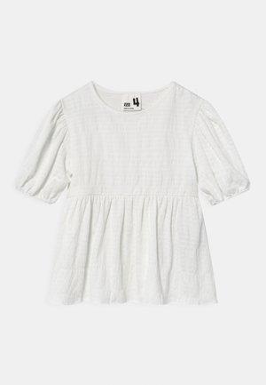 CARLA PUFF SLEEVE - T-shirt print - vanilla
