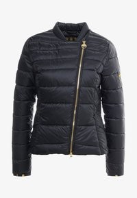 Barbour International - CORTINA QUILT - Übergangsjacke - black - 4