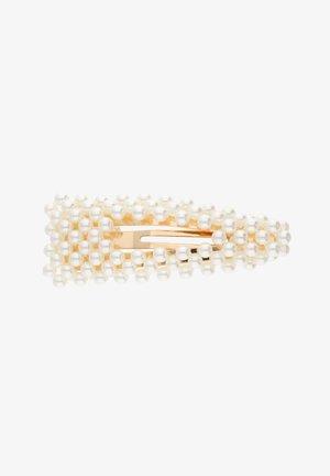 MIT ZIERPERLEN - Hair styling accessory - goldfarben