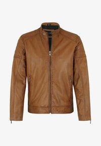 Capitano - IOWA - Leather jacket - cognac - 4