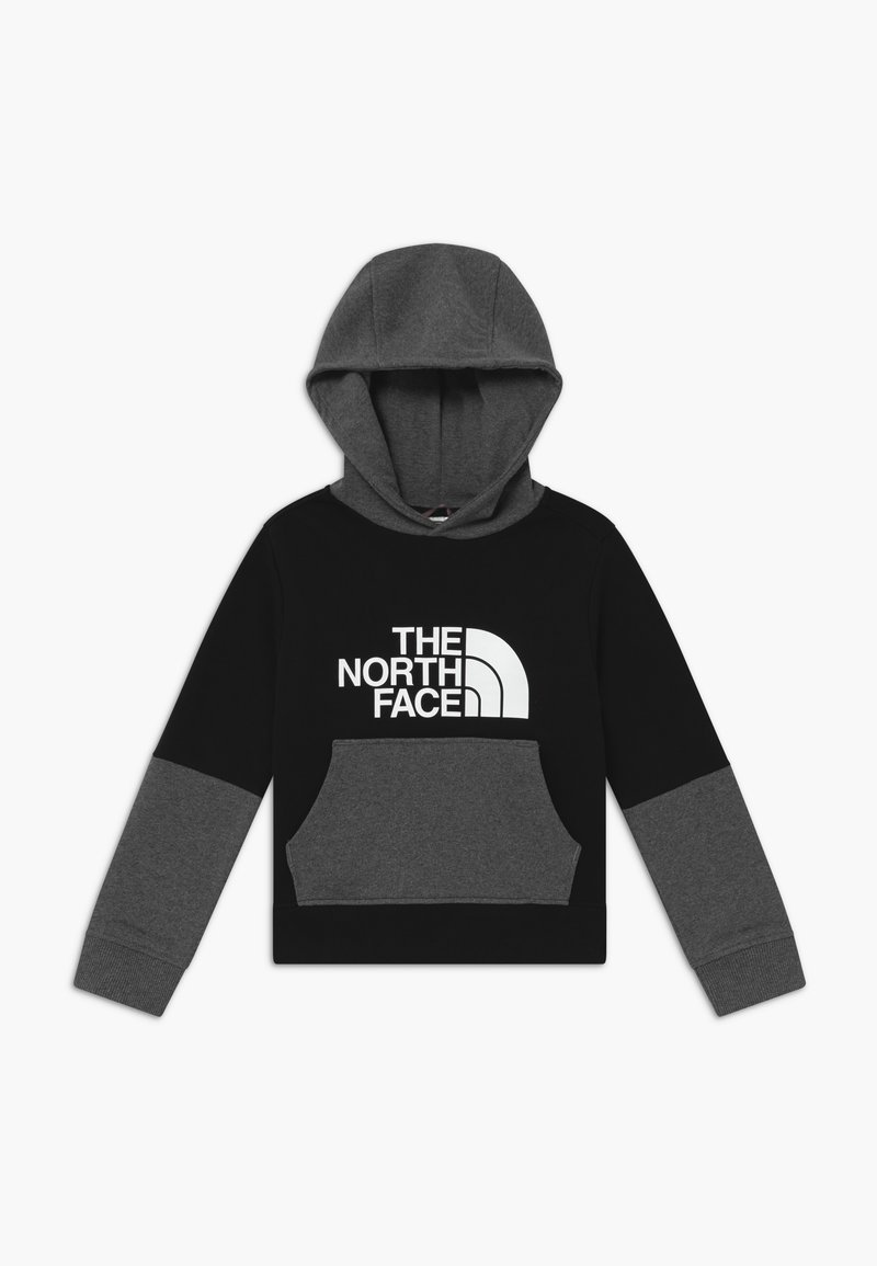 The North Face - Hoodie - black/grey