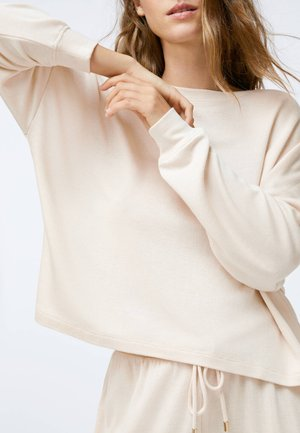 Nattøj trøjer - beige