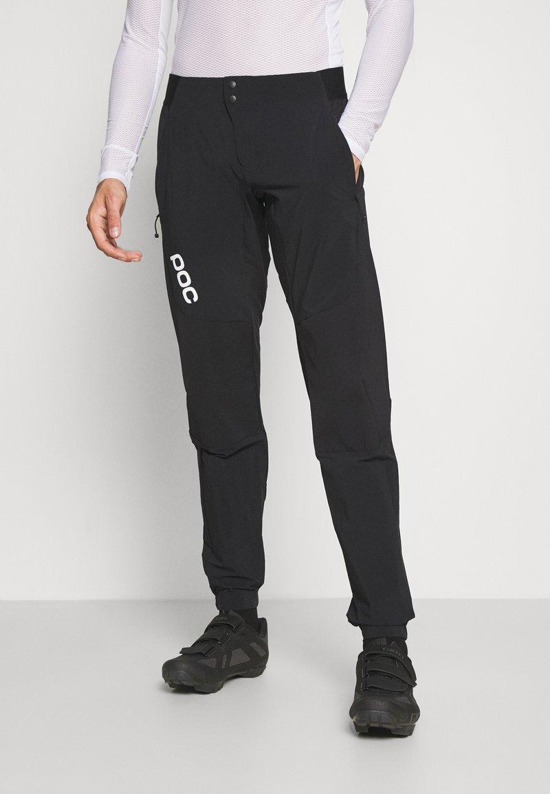 POC - RHYTHM RESISTANCE PANTS - Kalhoty - uranium black