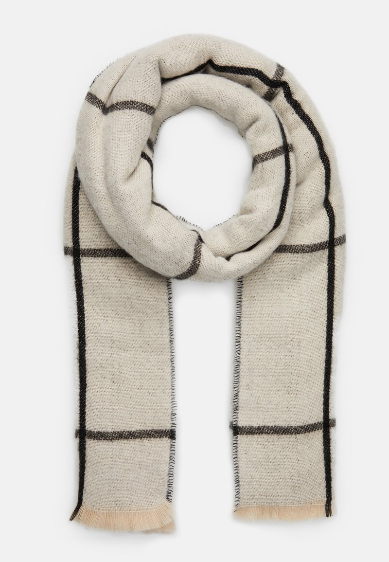 Pier One - Sjal - offwhite/grey