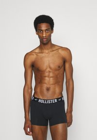 Hollister Co. - CORE SOLID 3 PACK - Panty - black - 0