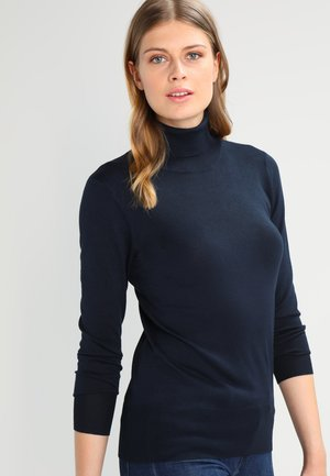 ASTRID ROLL NECK - Strikpullover /Striktrøjer - midnight marine