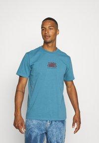 WAWWA - HARMONIA UNISEX - Print T-shirt - sky blue - 3