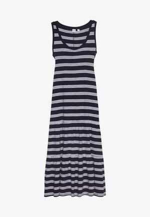 TIERED - Maxi dress - navy