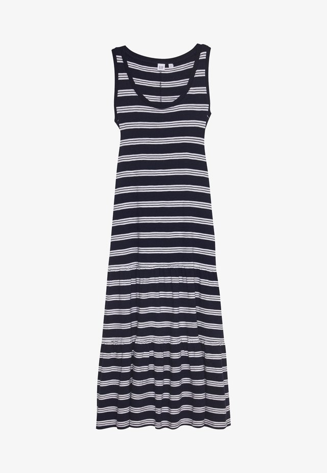 TIERED - Maxi dress - navy