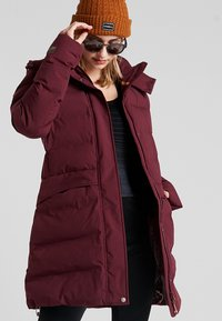 Icepeak - ANOKA - Winter coat - wine - 0