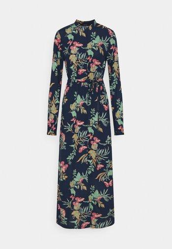 VMSIMPLY EASY LONG SHIRT DRESS - Maxi dress - navy blazer