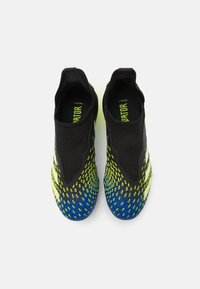 adidas Performance - PREDATOR FREAK .3 LL FG UNISEX - Korki Lanki - core black/footwear white/solar yellow - 3
