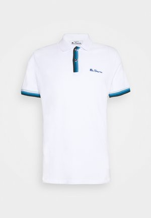 PLACKET INTEREST - Polo shirt - white