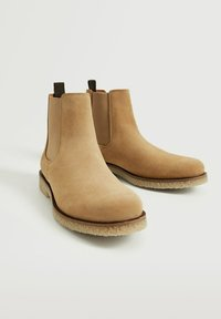 Mango - CREPBTN - Classic ankle boots - écru - 2