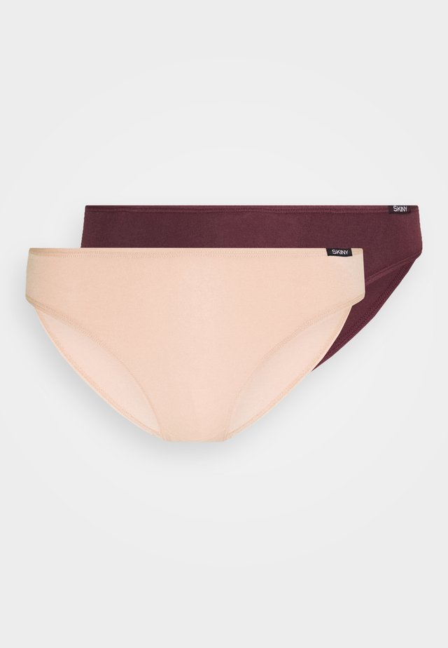 RIO ADVANTAGE 2 PACK  - Slip - aubergine