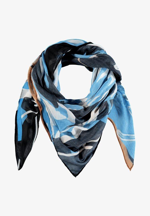 MIT PRINT - Foulard - bluebelle gemustert