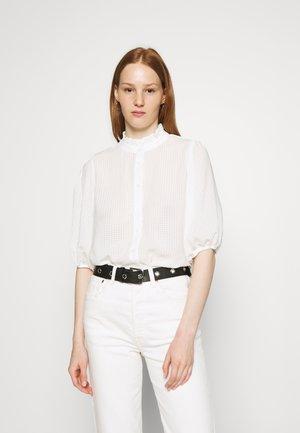 TARA SHIRT - Button-down blouse - bright white