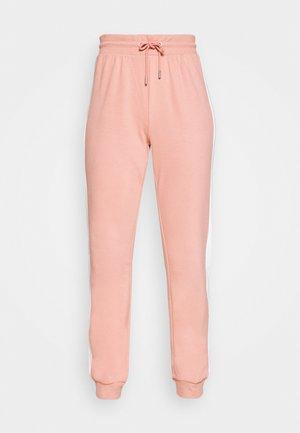 ONLASHLEY PANTS - Pantalones deportivos - rose dawn/rose/ apple butter