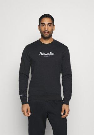 OWN BRAND PINSCRIPT CREW - Sweatshirt - black
