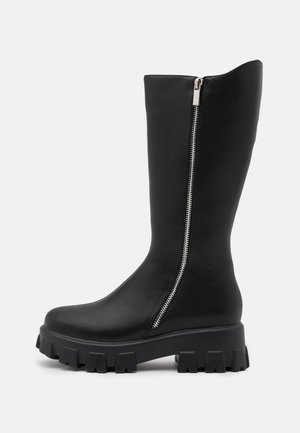 DANAE CHUNKY BOOTS - Platform boots - black