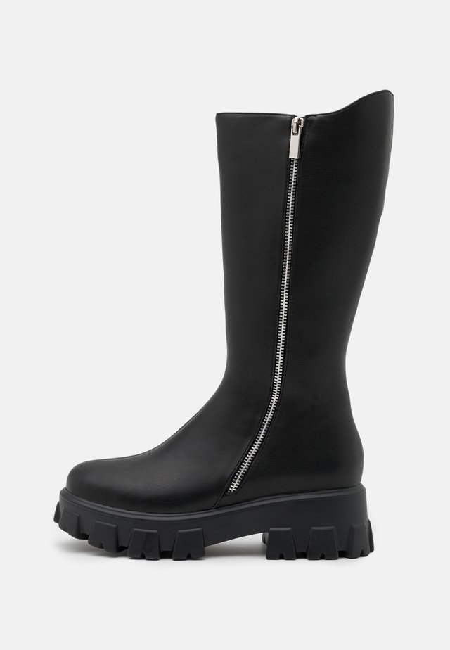 DANAE CHUNKY BOOTS - Platform boots - black