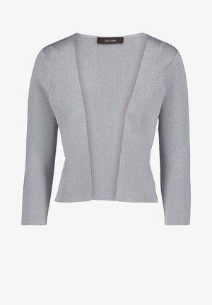 Cardigan - grau/silber