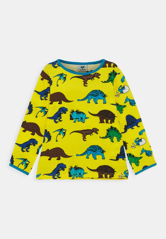 DINO - Long sleeved top - yellow
