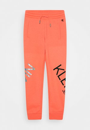 HERO LOGO - Tracksuit bottoms - pink