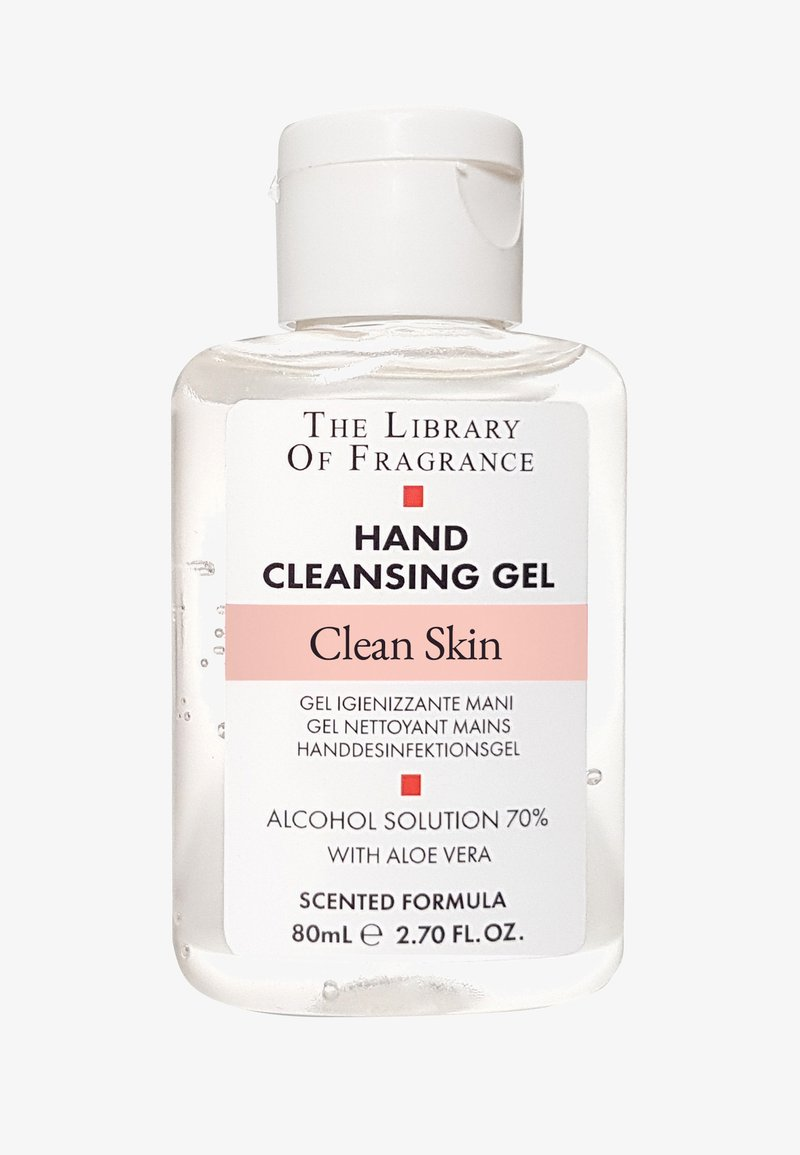 The Library of Fragrance - CLEAN SKIN HAND SANITIZER GEL  - Handcreme - clean skin
