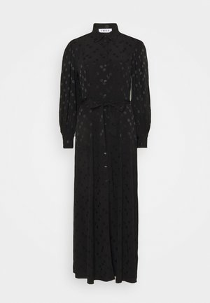 JOLANDA DRESS - Vestido camisero - schwarz