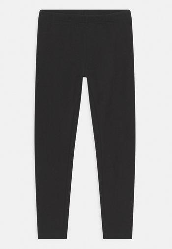 MINI BASIC SOLID - Leggings - Trousers - black