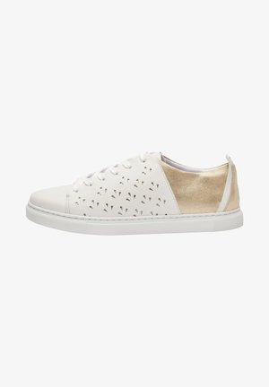 RENEE AJOUREE  - Sneakers basse - White/Gold