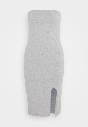 TUBE MINI DRESS - Shift dress - grey