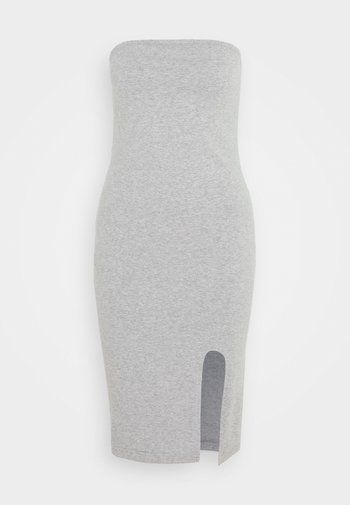 TUBE MINI DRESS - Vestido de tubo - grey