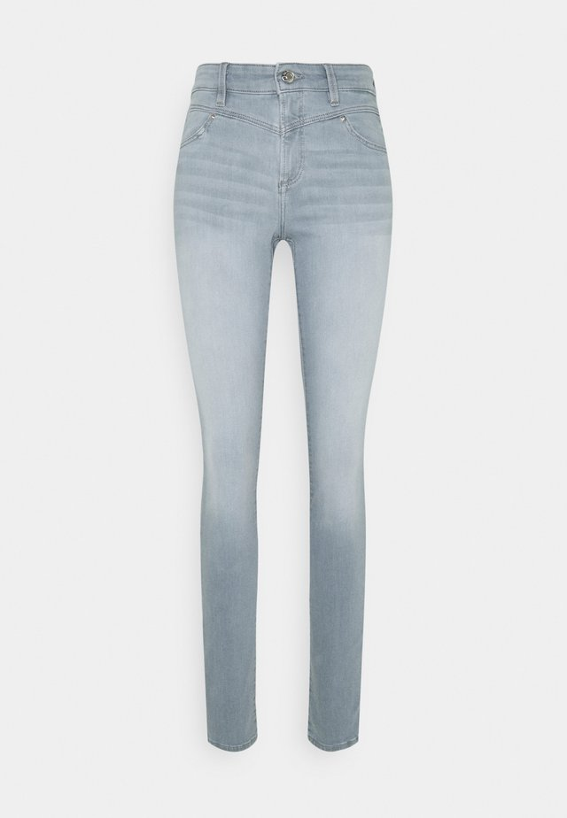 Skinny džíny - grey stret