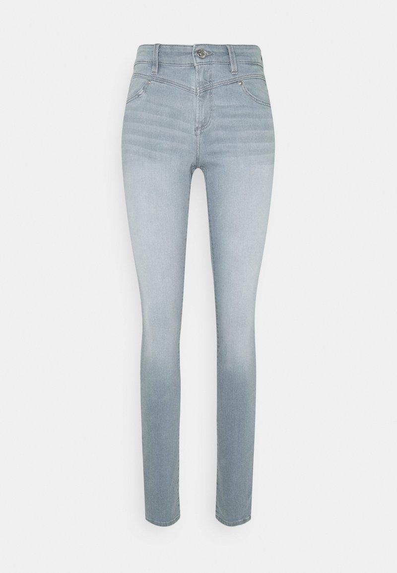 s.Oliver - Jeans Skinny Fit - grey stret