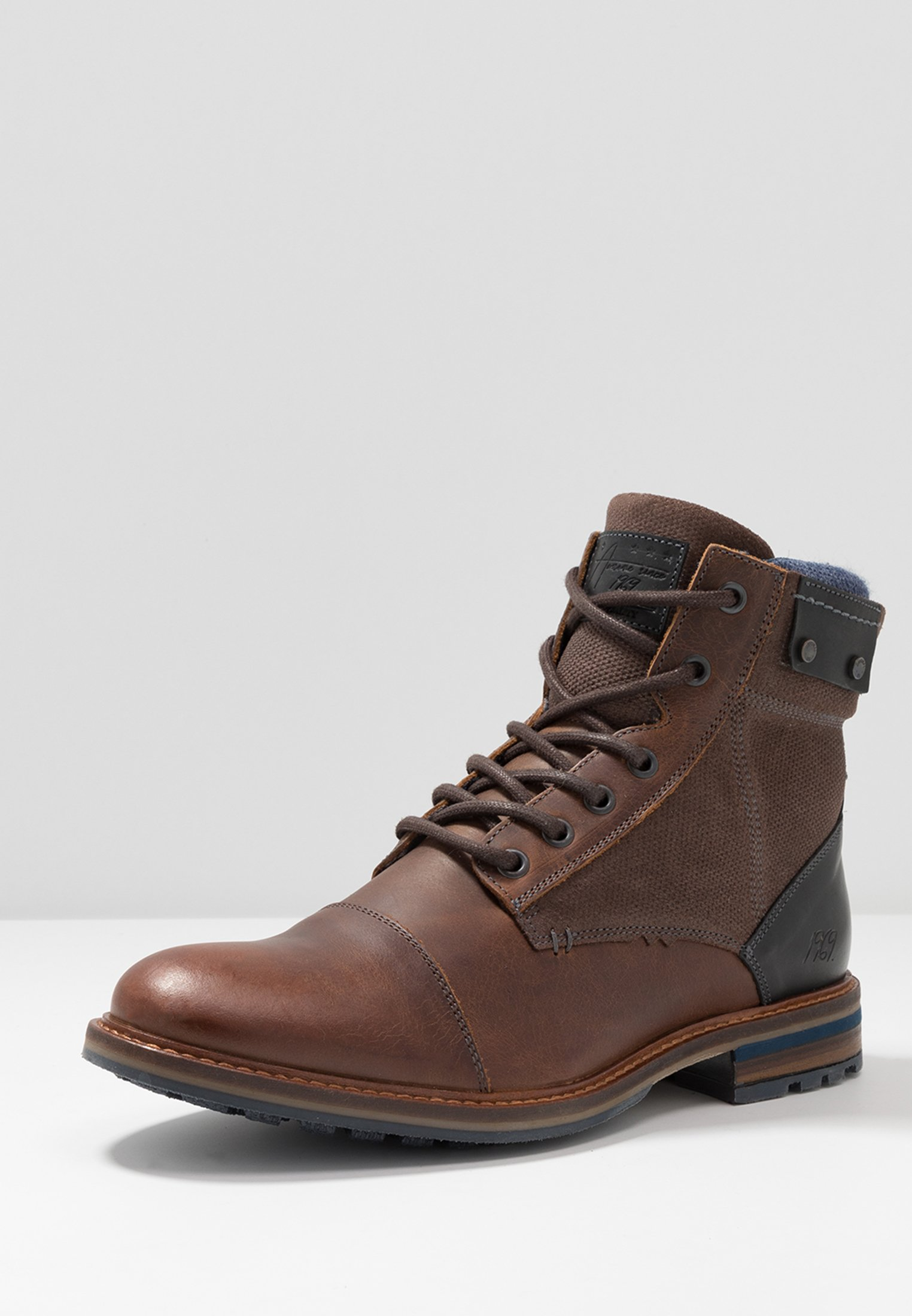 Get Cheapest Bullboxer Lace-up ankle boots - brown | men's shoes 2020 OHYVP