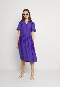 YAS - YASIRIS MIDI DRESS - Sukienka letnia - blue iris - 1