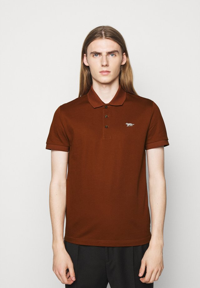 DARIOS - Polo - rust red