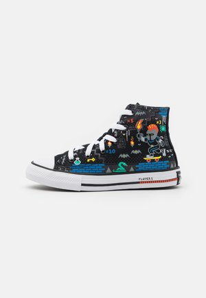 CHUCK TAYLOR ALL STAR GAMER UNISEX - High-top trainers - black/bright poppy/digital blue