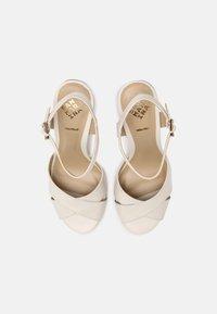 San Marina - VANILAN - Wedge sandals - ivoire - 4