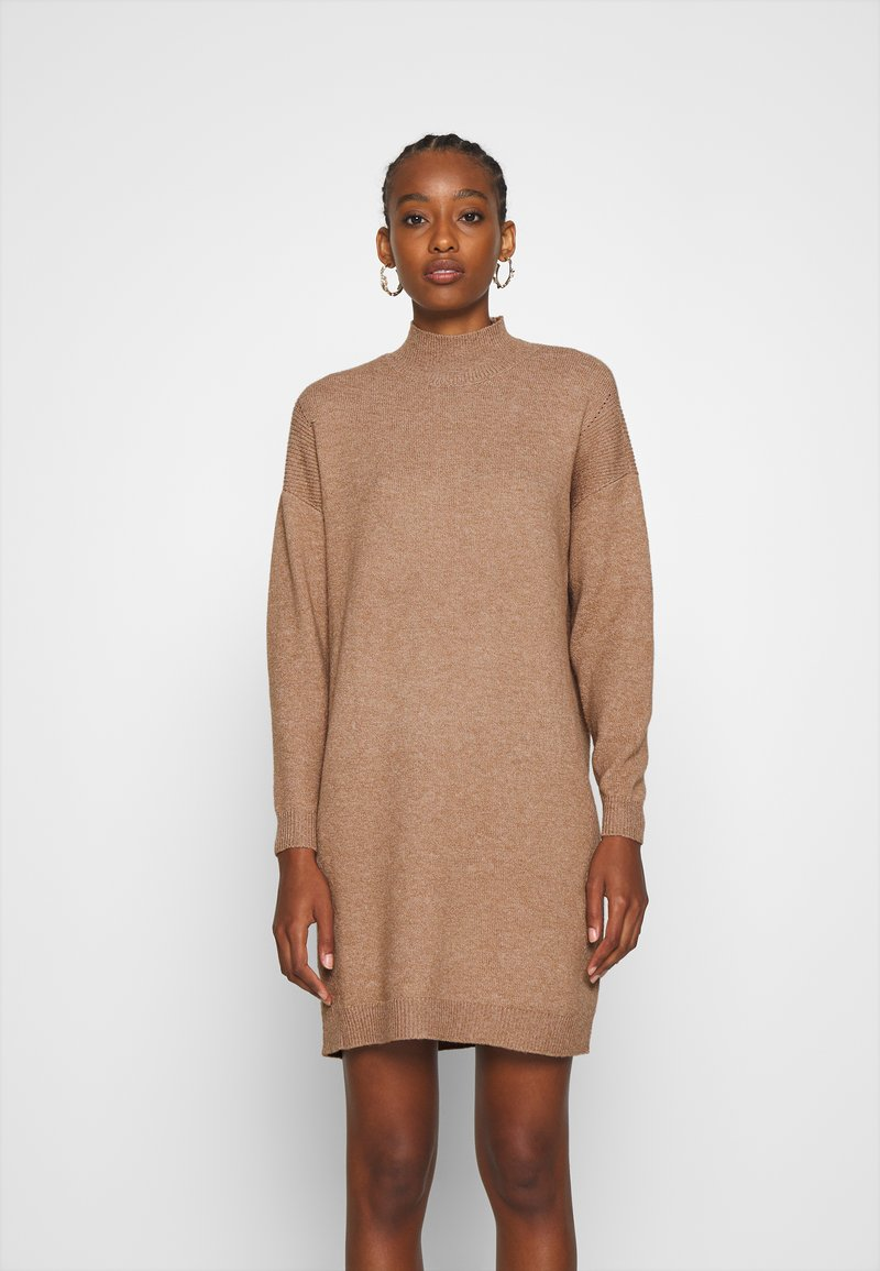 ONLY - ONLPRIME DRESS - Jumper dress - brownie melange