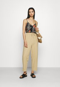Cotton On - CALI PULL ON PANT - Trousers - brown taupe - 1